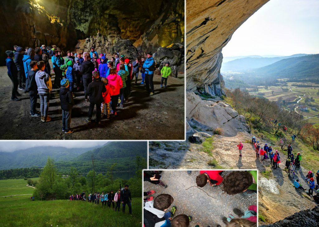 Mladinski odsek na taboru in planinskih pohodih Avtor: Primož Černilec