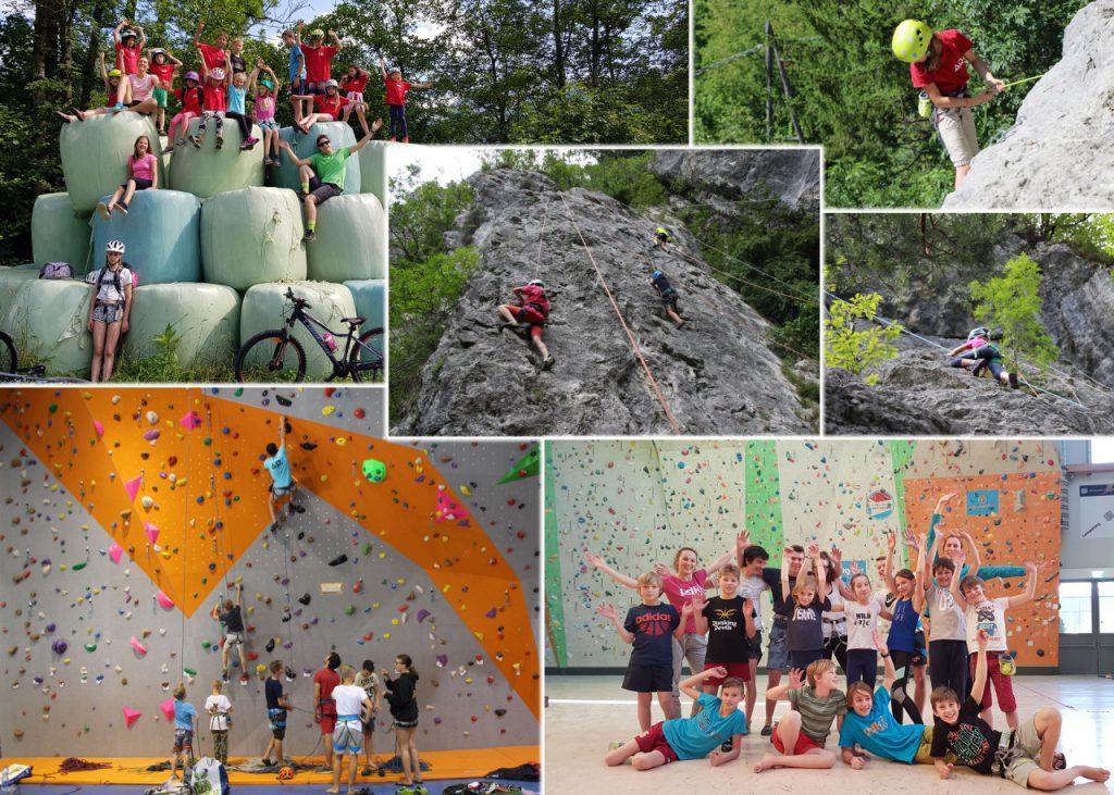 Športni plezalci na plezalnih taborih Avtor: Špela Šter