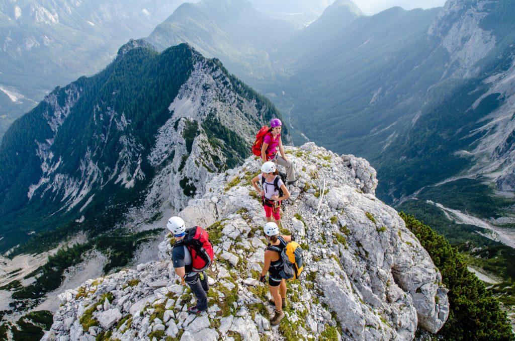 Na grebenu Visoke Vrbanove špice Avtor: Matjaž Sušnik